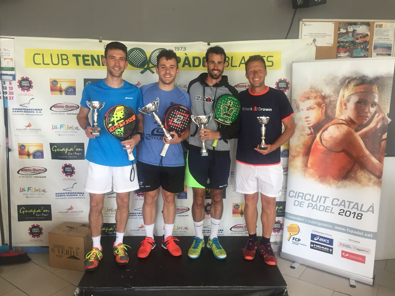 BRONZE HEAD BLANES CAMPIONS MASCULINS