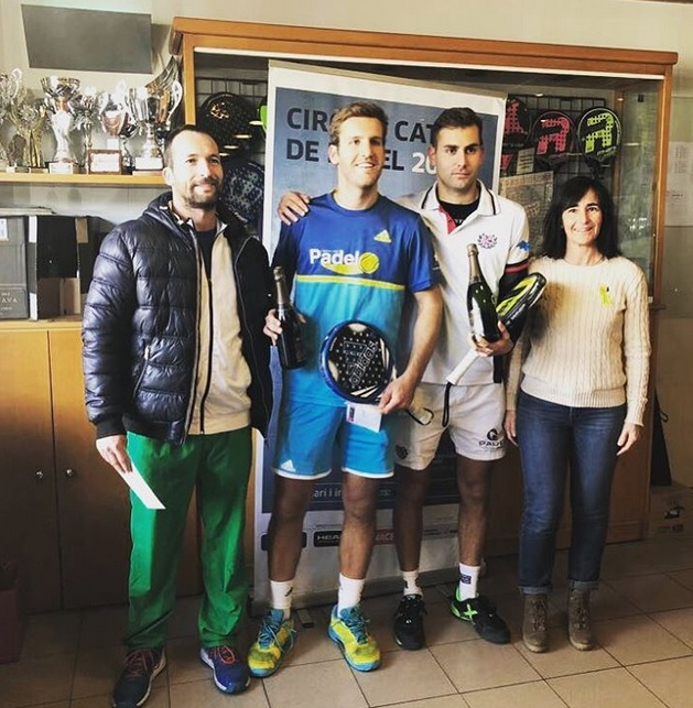 SOTSCAMPIONS OR PADEL OSONA