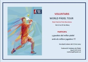 voluntaris world padel tour